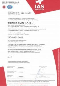 TREVISANELLO SRL REV.01 - Q-1